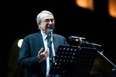 Giuliano Pisapia, mayor of Milan Royalty Free Stock Photos