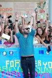 Giuliano Sangiorgi al Giffoni Film Festival 2013 Royalty Free Stock Photo