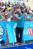 Giuliano Sangiorgi al Giffoni Film Festival 2013 Royalty Free Stock Image