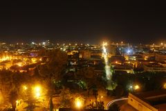 Giulianova by night Stock Photos