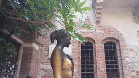 Giulietta, Verona. The sculpture of Giulietta, Verona, Italy Stock Photography