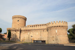 Giulius II Castle in Ostia Royalty Free Stock Photos