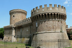 Giulius II Castle in Rome Stock Image