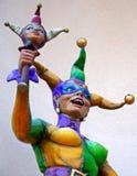 Giullare femminile Fotografie Stock Libere da Diritti