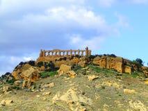 Giunone Tempel in Agrigent Stockbild
