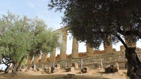 Giunone Temple Royalty Free Stock Photos