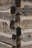 Giunti del fascio di legno Immagini Stock Libere da Diritti