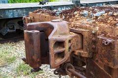 Giunti della ferrovia Fotografia Stock Libera da Diritti