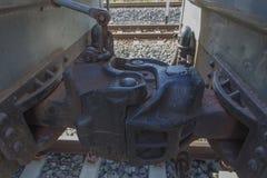 Giunto del collegamento del treno Fotografia Stock