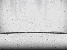 Giunto del muro di cemento e del pavimento, fondo strutturato fotografie stock libere da diritti