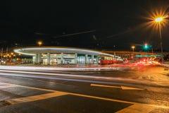 Giunzione Hietzing Vienn di traffico Fotografia Stock Libera da Diritti