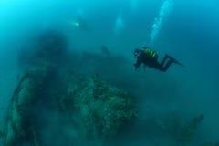 Giuseppe Dezza shipwreck Royalty Free Stock Photos