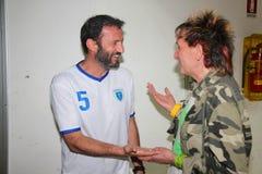 Giuseppe Favalli y Paolo Solange Foto de archivo