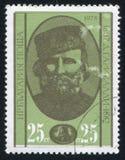 Giuseppe Garibaldi Imagem de Stock Royalty Free