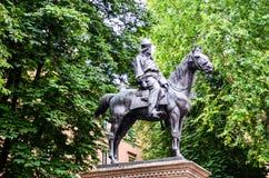 Giuseppe Garibaldi in Bologna Italien lizenzfreies stockbild