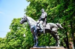 Giuseppe Garibaldi in Bologna Italien lizenzfreie stockbilder