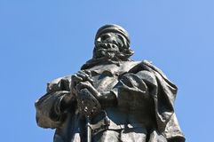 Giuseppe Garibaldi Bronze Statue. Royalty Free Stock Photography