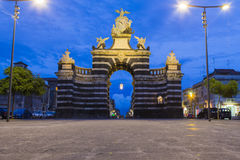 Giuseppe Garibaldi gate Royalty Free Stock Photography
