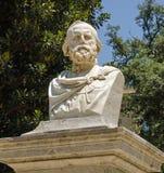 Giuseppe Garibaldi monument, Palermo royalty free stock images