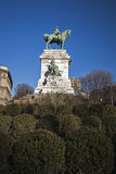 Giuseppe Garibaldi monument Royalty Free Stock Images