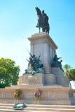 Giuseppe Garibaldi statue Stock Photography