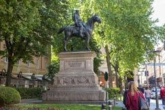 Giuseppe Garibaldi statue in Bologna Stock Image