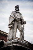 Giuseppe Garibaldi statue. In San Marino. The first monument to this national hero placed in the world Royalty Free Stock Photography