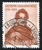 Giuseppe Gioachino Belli Stock Image
