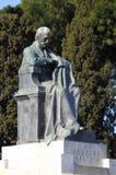 Giuseppe Mazzini statue Stock Photo