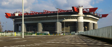 Giuseppe Meazza stadium in Milan, Italy Stock Photo