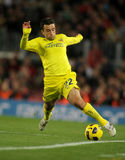 Giuseppe Rossi of Villarreal CF Stock Photo