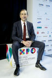 Giuseppe Sala CEO von Ausstellungs-Badekurort 2015 Lizenzfreies Stockfoto