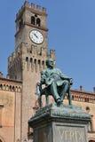 Giuseppe Verdi Square Royaltyfri Fotografi