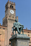 Giuseppe Verdi Square Fotografia de Stock Royalty Free