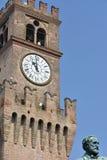 Giuseppe Verdi Square. Busseto, Parma, Italy Royalty Free Stock Image