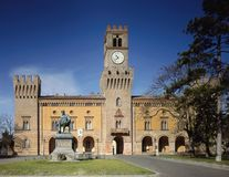 Giuseppe Verdi Theatre imagem de stock royalty free