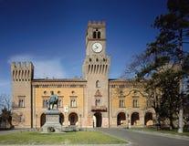 Giuseppe Verdi Theatre royaltyfri bild