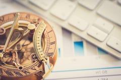 Giusta direzione del vostro affare Immagine Stock