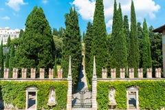 Free Giusti Garden In Verona, Italy Royalty Free Stock Image - 124076276