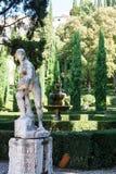 Giusti Garden in Verona Royalty Free Stock Photos