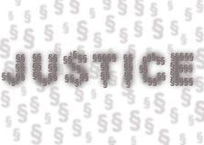 Giustizia Immagini Stock