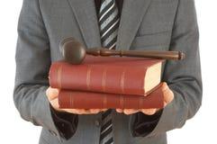 Giustizia nel commercio Fotografie Stock Libere da Diritti