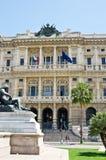Giustizia Palace sulla piazza Cavour, Roma Fotografia Stock Libera da Diritti