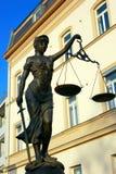 Giustizia poetica della giustizia di signora Fotografia Stock Libera da Diritti