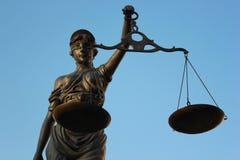 Giustizia poetica della giustizia di signora Immagini Stock