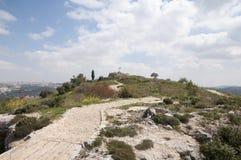 Giv'at HaTahmoshet (холм боеприпасов) стоковые изображения