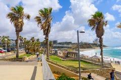 Givat Aliyah-Strand, Jaffa Lizenzfreies Stockfoto