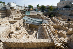 Givati excavations Stock Image
