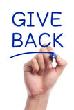 Give back Stock Photo