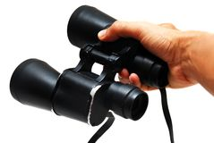 Give a binocular Royalty Free Stock Photography